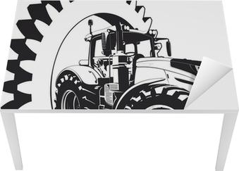 Naklejka na biurko i stół Logo firmy umawiające Rolnictwo