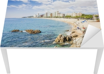 Aros Spisestol tableau sur toile plage de platja d'aro, une destination touristique