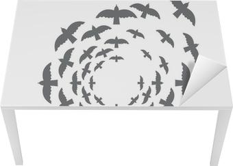 Obraz Na Płótnie Ptak Koło Szablon Projektowanie Pixers żyjemy