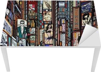 Aros Spisestol papier peint rue à new york • pixers® - nous vivons pour changer