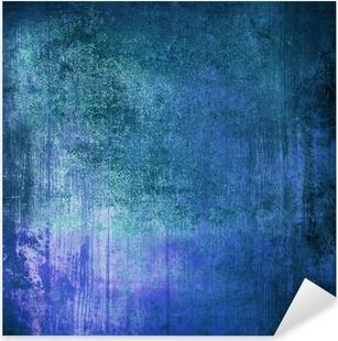 Naklejka Pixerstick Niebieski grunge przemysłowych