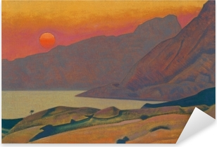 Naklejka Pixerstick Nikołaj Roerich - Monhegan. Maine