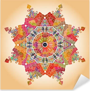 Naklejka Pixerstick Orientalny motyw mandala