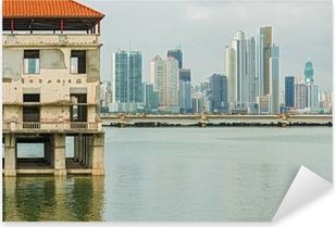 Naklejka Pixerstick Panama City