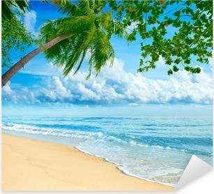 Naklejka Pixerstick Plaża