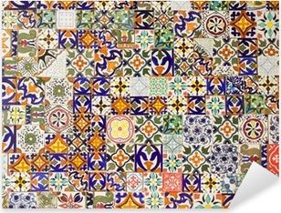 Naklejka Pixerstick Płytki ceramiczne wzory
