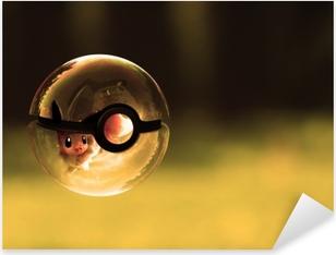 Naklejka Pixerstick Pokemony
