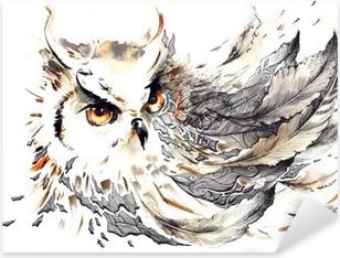 Naklejka Pixerstick Ptak