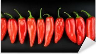 Naklejka Pixerstick Red hot chili