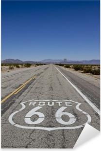 Naklejka Pixerstick Route 66