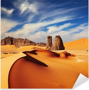 Naklejka Pixerstick Saharze, Algieria