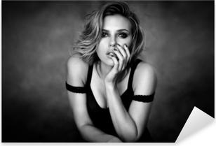 Naklejka Pixerstick Scarlett Johansson
