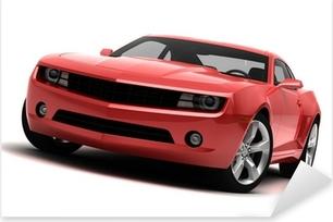 Naklejka Pixerstick Sportowy samochód - Samochód wyścigowy