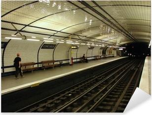 Naklejka Pixerstick Stacja metra (concorde, Paryż)