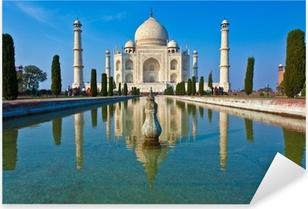 Naklejka Pixerstick Taj Mahal w Indiach