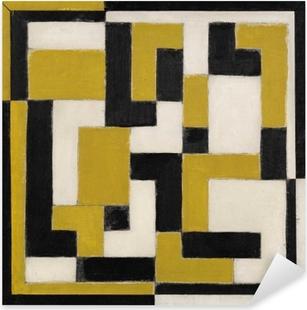 Naklejka Pixerstick Theo van Doesburg - Kompozycja