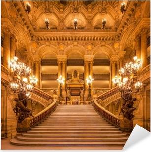 Naklejka Pixerstick Treppenhaus in der Oper
