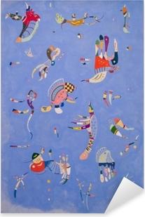 Naklejka Pixerstick Wassily Kandinsky - Błękitne niebo