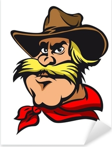 Naklejka Pixerstick Western cowboy