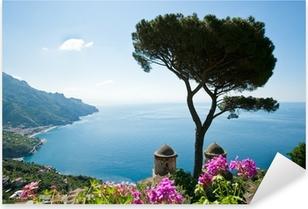 Naklejka Pixerstick Wybrzeże Amalfi Widok