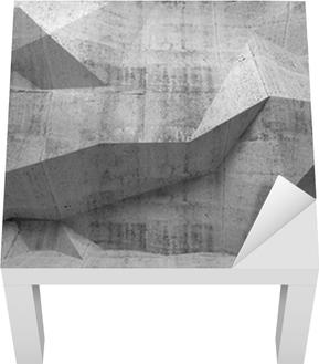 64da892ab4 Fototapeta Abstraktní tmavě beton 3d interiér s polygonálním vzorem na •  Pixers® • Žijeme pro změnu