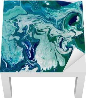 Mramorovaný modré pozadí abstraktní. Liquid mramor vzor. Mramorování akryl textury
