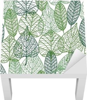Zelené listí bezproblémové vzor