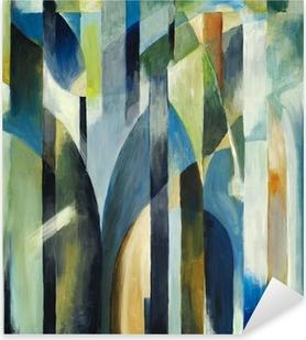 Nálepka Pixerstick Abstraktní malbu
