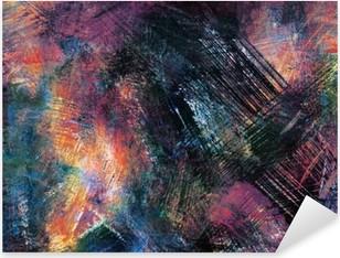 Nálepka Pixerstick Abstraktní pozadí