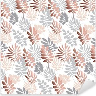 Nálepka Pixerstick Abstraktní tropické listy