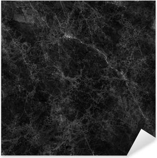 Nálepka Pixerstick Black marble texture (vysoké rozlišení)