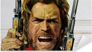 Nálepka Pixerstick Clint Eastwood