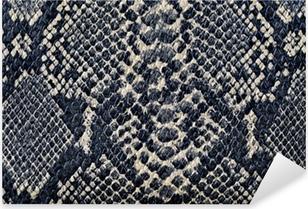 Nálepka Pixerstick Hadí kůže textury na pozadí
