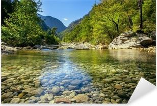 Nálepka Pixerstick Horský potok