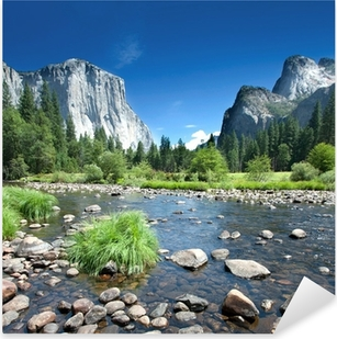 Nálepka Pixerstick Kalifornie - Yosemite National Park