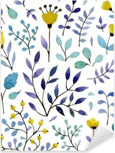 Nálepka Pixerstick Květinový vzor