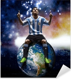 Nálepka Pixerstick Leo Messi