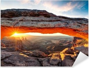 Nálepka Pixerstick Mesa Arch