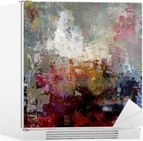 Nálepka na Ledničku Abstraktní malba textury