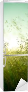 Nálepka na Ledničku Letní suchá tráva