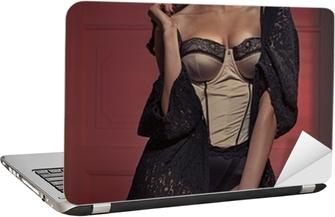 93e32a65d Fototapeta Krásná mladá dáma na sobě erotické prádlo • Pixers® • Žijeme pro  změnu