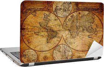 Nálepka na Notebook Staré mapy (1746)