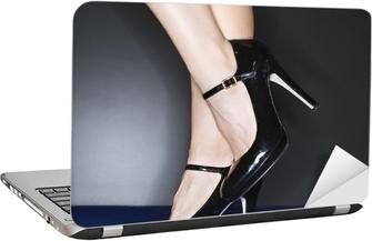 e2c53c83891 Obraz na plátně Perfektní dámské nohy v červené boty • Pixers® • Žijeme pro  změnu