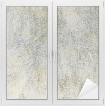 Nálepka na Sklo a Okna Retro pozadí s texturou starého papíru