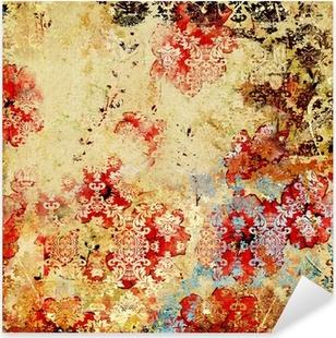 Nálepka Pixerstick Ošumělý vintage papír