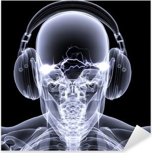Nálepka Pixerstick Skeleton X-Ray - DJ 3