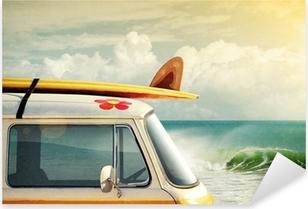 Nálepka Pixerstick Surfování způsob života