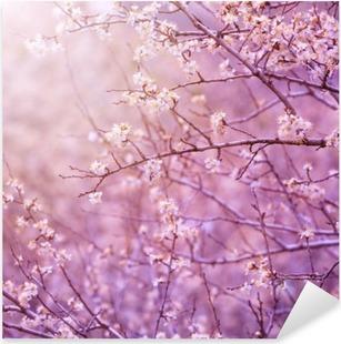 Nálepka Pixerstick Třešeň květ