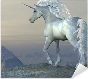 Nálepka Pixerstick Unicorn Bluff