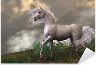 Nálepka Pixerstick White Unicorn Stallion